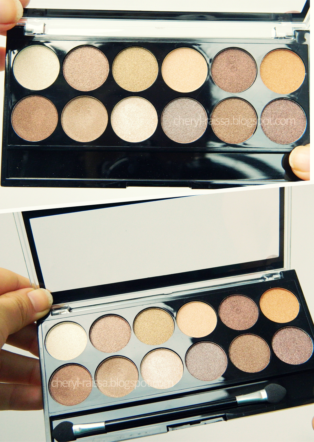 Review Mua Professional Eye Primer: Review MUA Heaven And Earth Palette