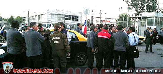 Choferes del Transantiago retrasan salida de buses en el sector norte de la capital | Rosarienses, Villa del Rosario