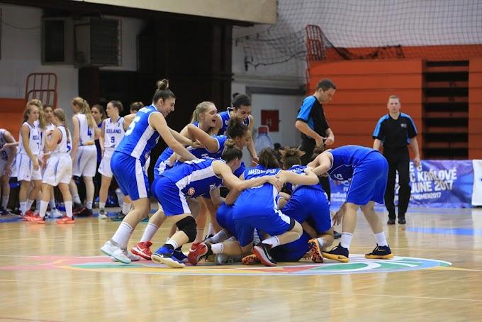Ανοδος στη «μεγάλη» κατηγορία, δια χειρός Τσινέκε, για την Εθνική Νεανίδων-Επικράτησε 61-65 της Ισλανδίας και θα διεκδικήσει αύριο την πρωτιά με την Σουηδία-Πλούσιο φωτορεπορτάζ