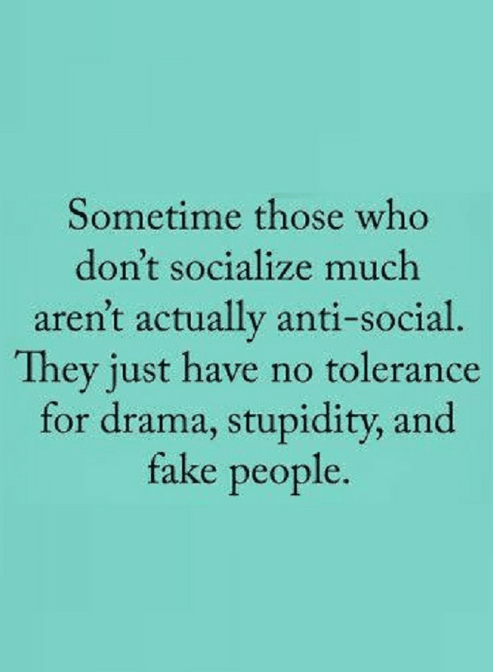 Socialization Quotes, Anti-Social Quotes,