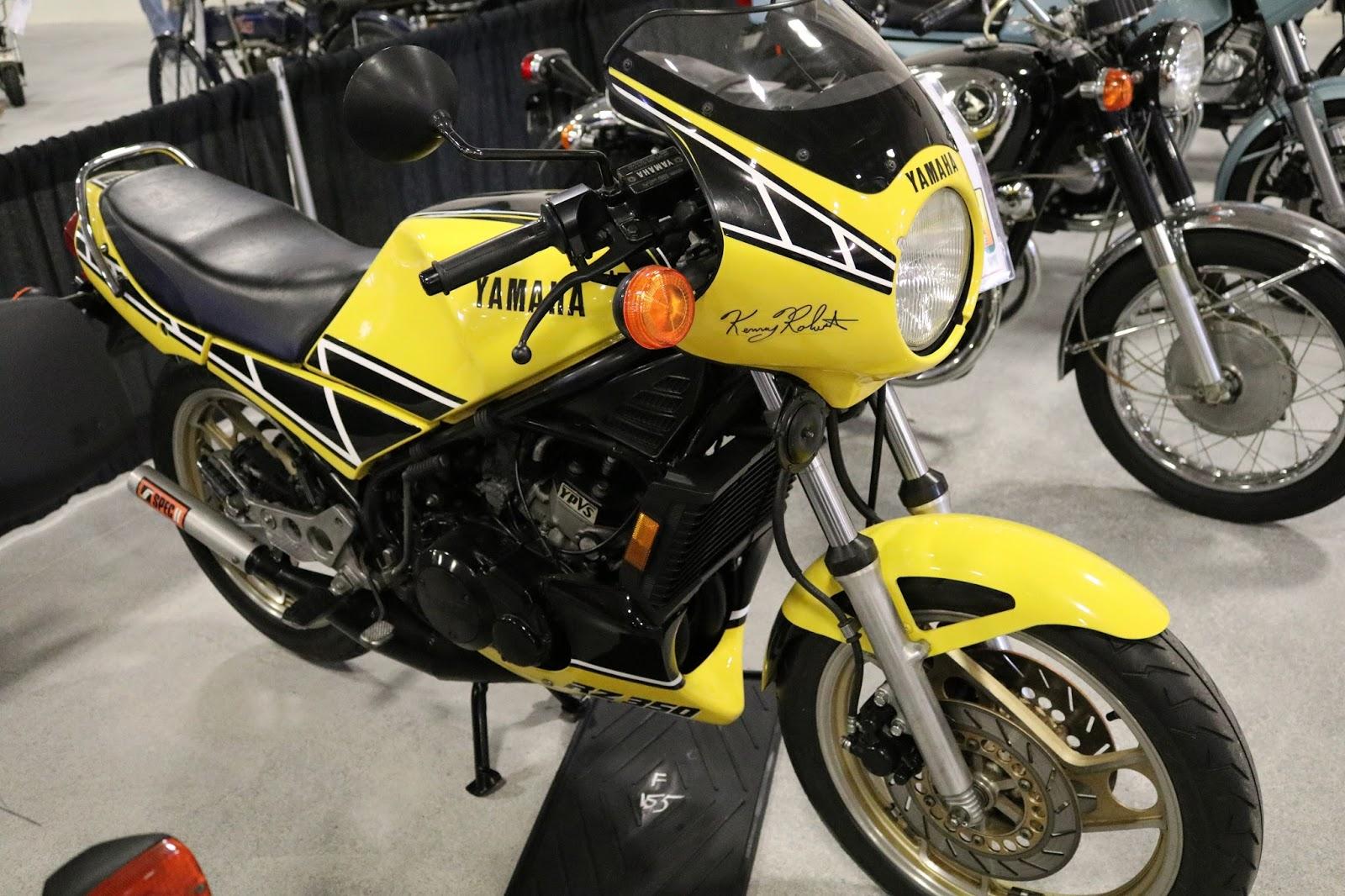 Oldmotodude 1984 yamaha rz350 sold for 6 000 at the 2017 for Yamaha of las vegas