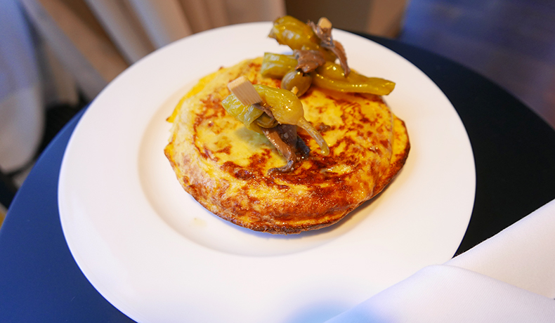 Euriental | fashion & luxury travel | Das Stue, tortilla de patatas room service, Berlin, Germany