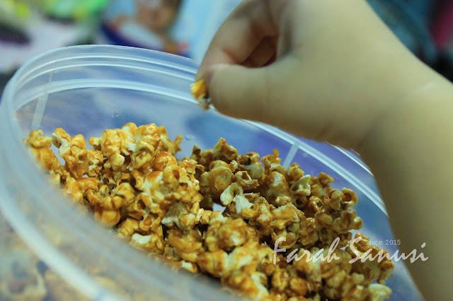 Resepi Popcorn Karamel Mudah