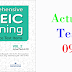 Listening Comprehensive TOEIC Training - Actual Test 09