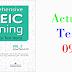 Listening Comprehensive TOEIC Training - Actual Test 09