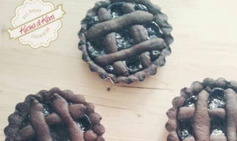 Crostatine al cioccolato di E. Knam