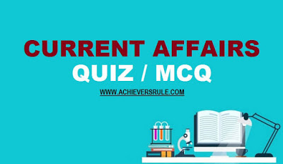 Daily Current Affairs Quiz - 24th & 25th December 2017