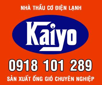 kaiyo san xuat ong gio chuyen nghiep