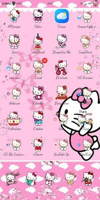 Hello Kitty V2 Theme For Vivo