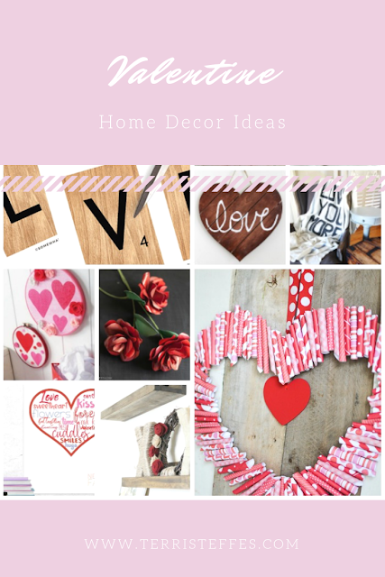 Valentine projects for the home