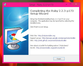 Cara install ruby di windows