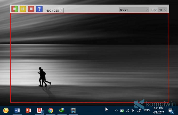 cara membuat animasi gif dari layar