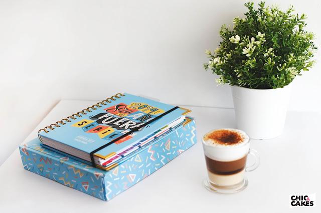 Agenda ilustrada 2019 Pedrita Parker y café
