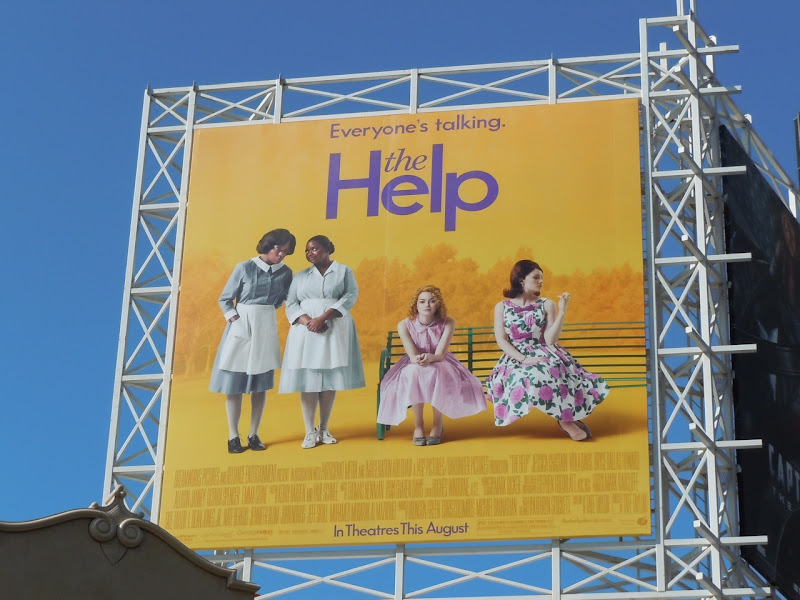 The Help movie billboard