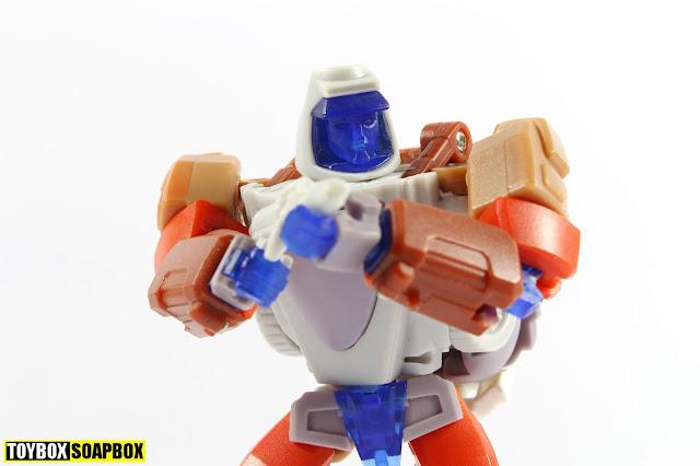 x-transbots Ollie v2 test shot