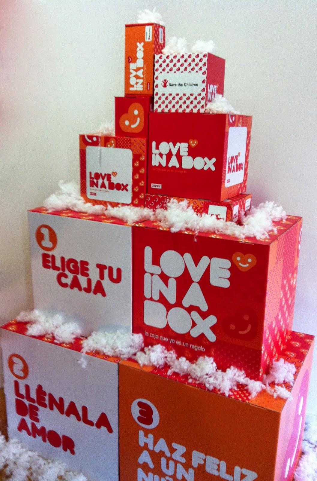 #loveinabox la caja que ya es un regalo