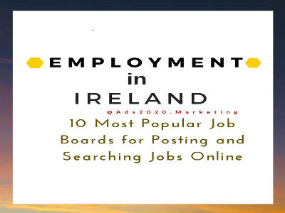 Employment websites in Ireland -Top 10 Most Popular Job Boards for Posting Searching Jobs-400x300