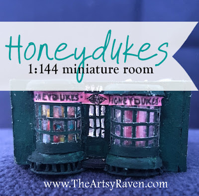 Honeydukes miniature by TheArtsyRaven