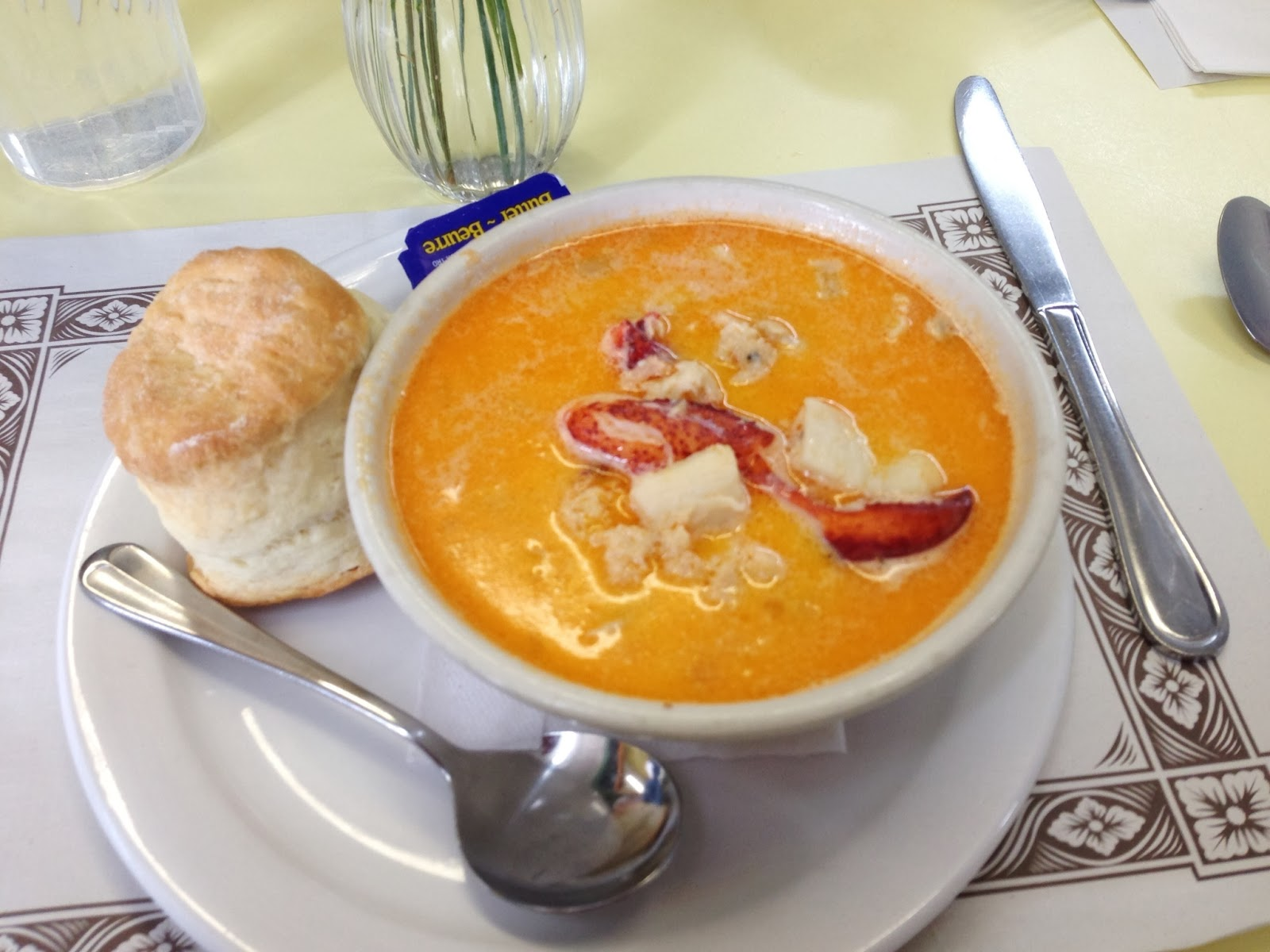 Gadding About With Grandpat The Best Seafood Chowder Ever