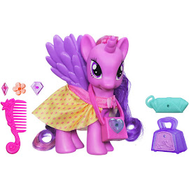 MLP Fashion Style Twilight Sparkle Brushable Pony