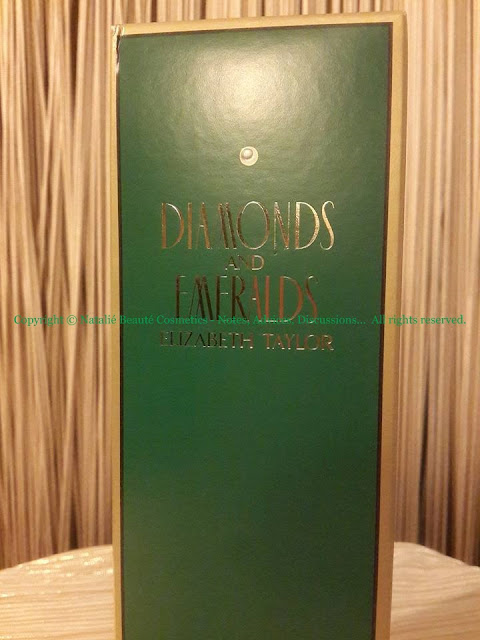 DIAMONDS AND EMERALDS Elizabeth Taylor PERSONAL PERFUME REVIEW AND PHOTOS NATALIE BEAUTE
