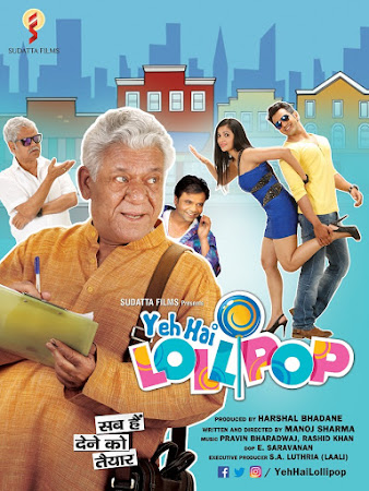 Watch Online Bollywood Movie Yeh Hai Lollipop 2016 300MB HDRip 480P Full Hindi Film Free Download At WorldFree4u.Com