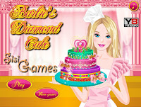 Permainan Barbie Memasak Cake