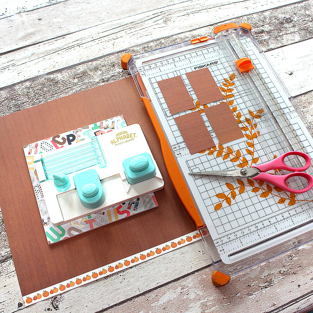 we r memory keepers alphabet punch board instructions