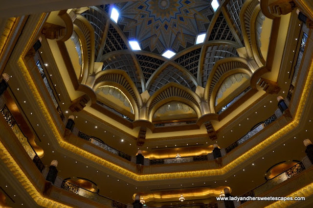 Abu Dhabi Emirates Palace's Grand Atrium