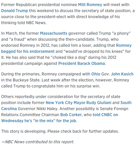 http://www.cnbc.com/2016/11/17/romney-and-trump-to-discuss-secretary-of-state-position-nbc-source-says.html