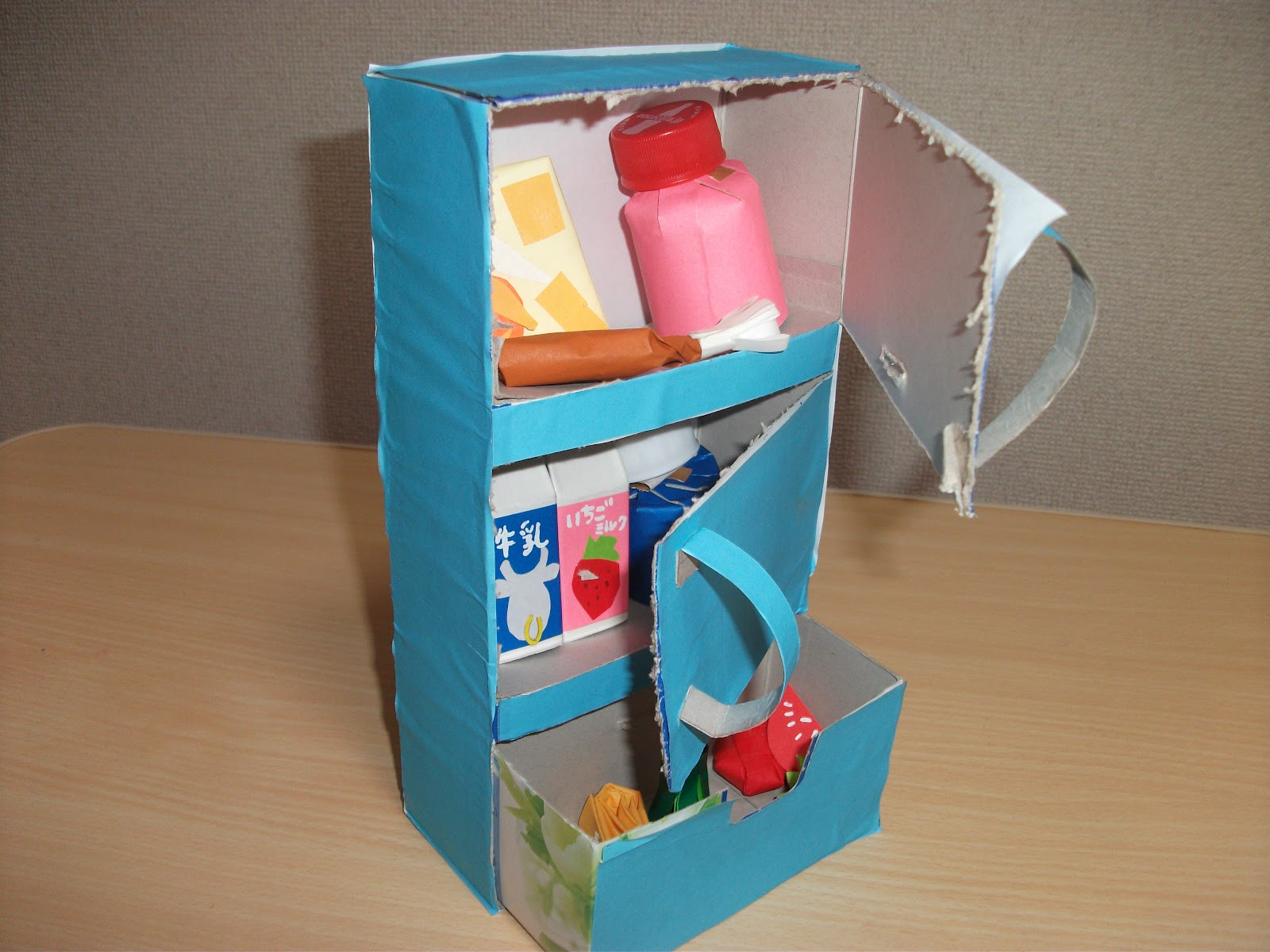 Refrigerator Tissue Box Craft Preschool Crafts For Kids