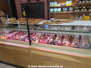 Dulces en pastelería francesa