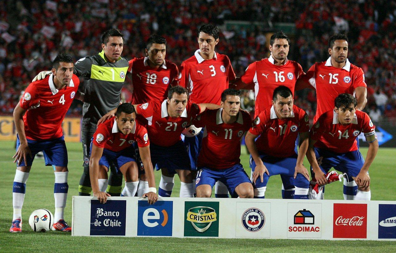 Formación de Chile ante Argentina, Clasificatorias Brasil 2014, 16 de octubre de 2012
