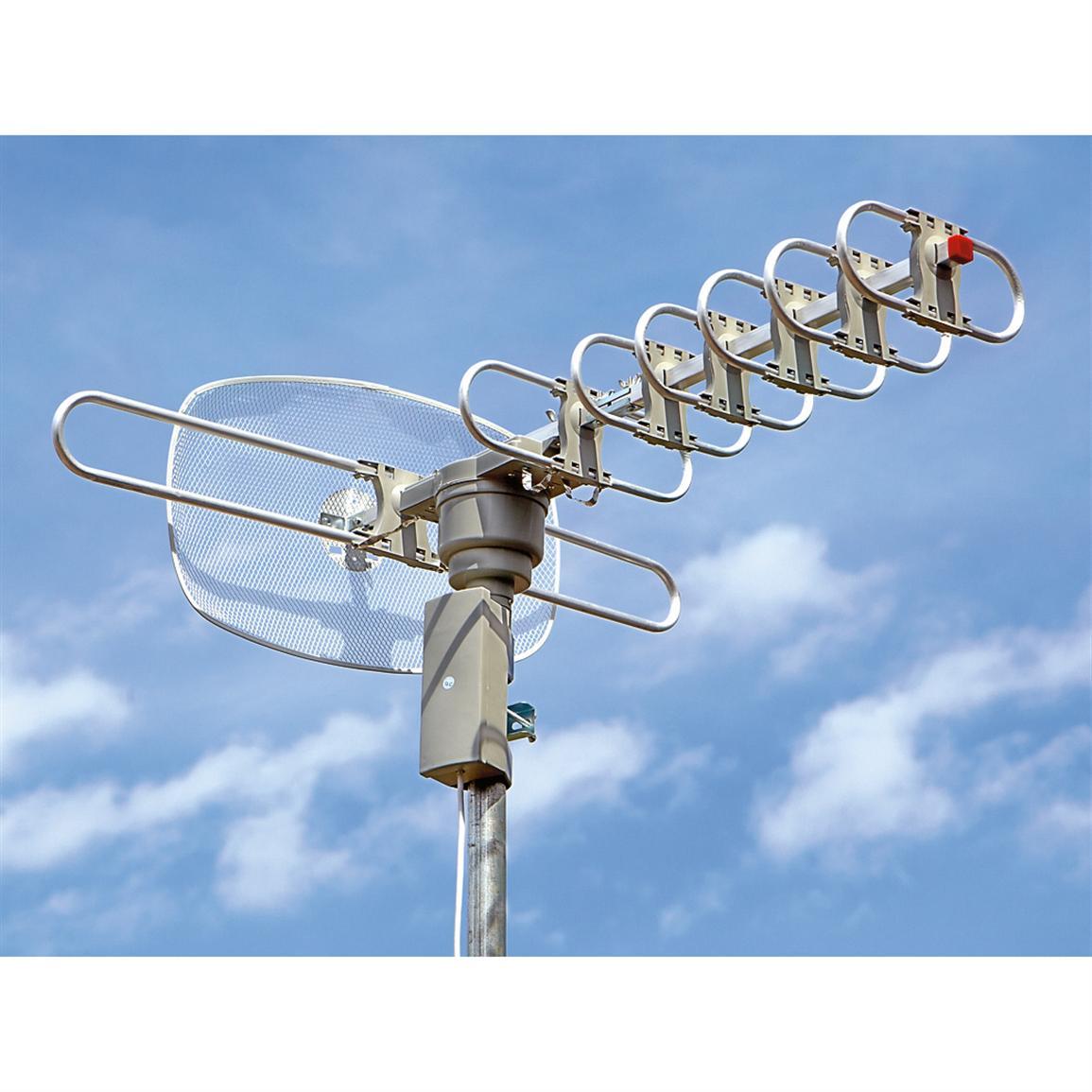 Antenna wave propagation