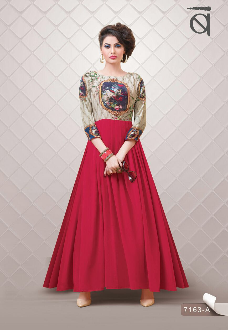 Blush 10 Nx – New Collection Of Printed Gown