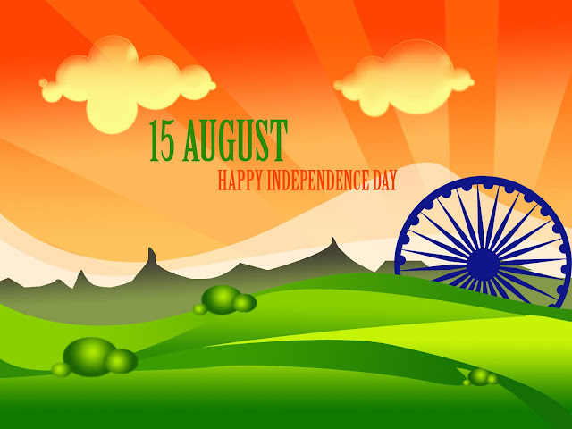 Happy 70th Independence Day Greeting cards, E-cards - 15 August cards 2016