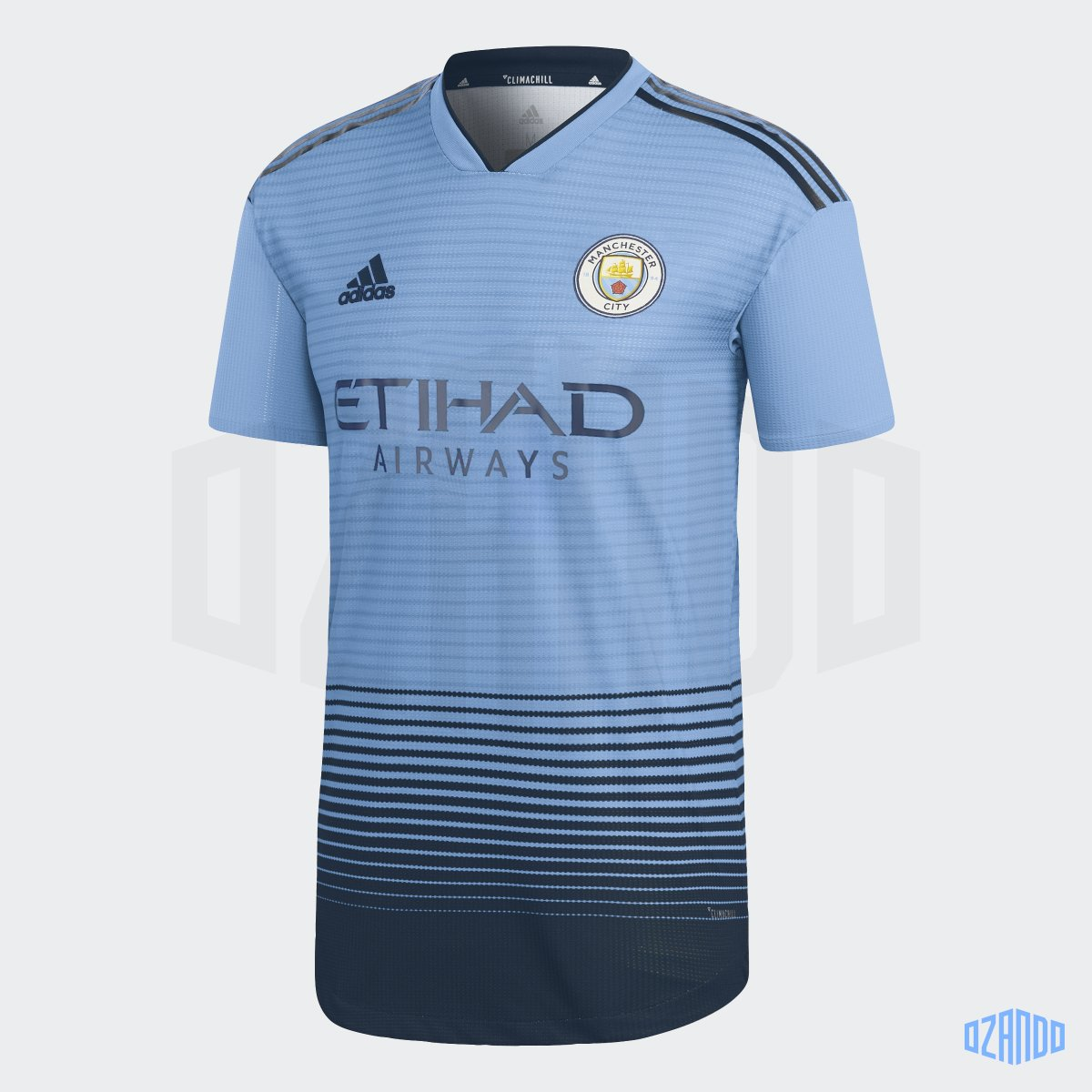 documentario Guinness Forma della nave  Manchester City x Manchester United Kit Swap By Ozando - Footy Headlines