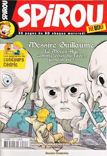 Spirou Hebdo, Messire Guillaume, numéro 3591, année 2007