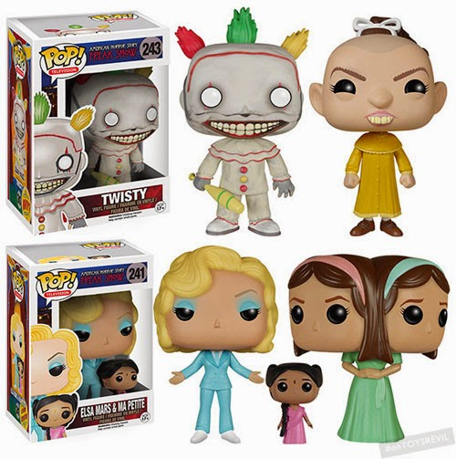 Pop Television American Horror Story Freak Show From Funko