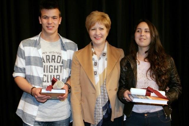 Α΄βραβείο στον μαθητή του 4ου Γυμνασίου Καστοριάς Παύλο Βαενά στον Πανελλήνιο Διαγωνισμό Ποίησης