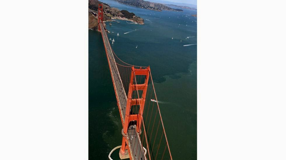 24. San Francisco, USA - 50 Stunning Aerials That Will Make You See the World in New Ways (PHOTOS)