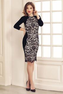 rochie-neagra-eleganta-midi-din-catifea-si-dantela-miriam-3