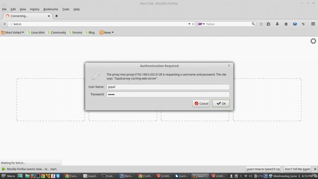 Squid With LDAP Authentication : Part-4   LinuxGateway
