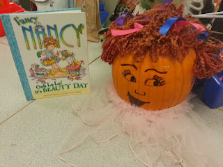 Pumpkin Book Reports- Fancy Nancy