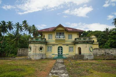 Istana kantor  Yang Dipertuan Muda Riau VIII Raja Ali