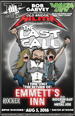 Emmett's Inn one last time August 5, 2016