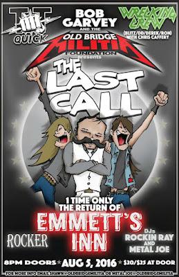 Emmett's Inn one last time August 5, 2016