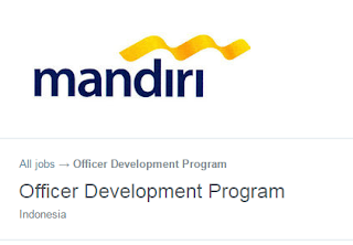 Loker BUMN Bank Terbaru ODP PT Bank Mandiri (Persero) Tahun 2018
