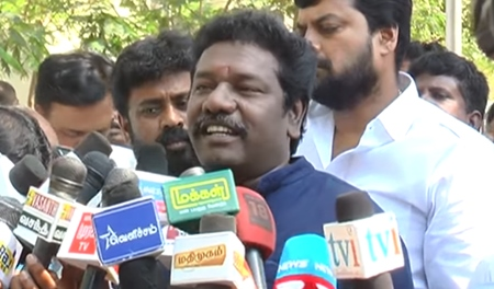 who and all are not voted for Me, dont have rights to question me : Karunas