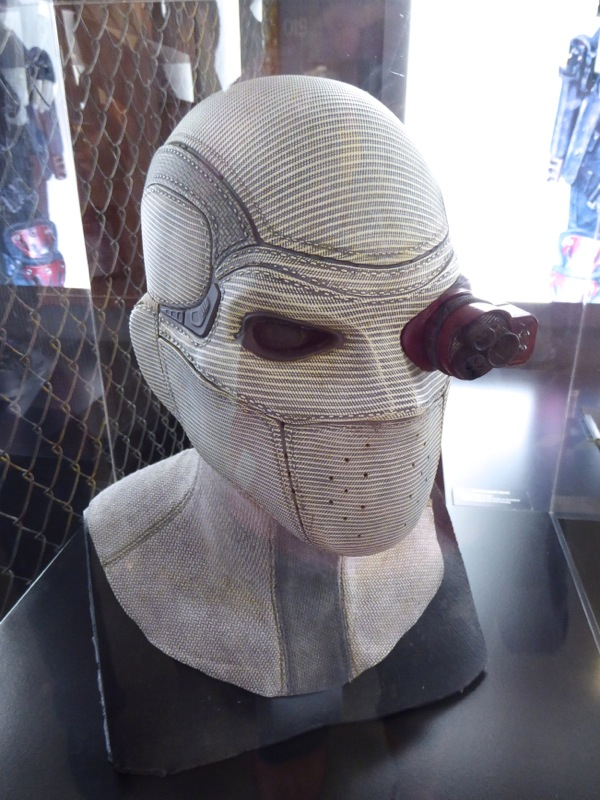 Deadshot mask with monocle Suicide Squad